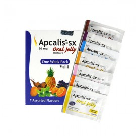 APCALIS JELLY 20mg/szt - 7szt